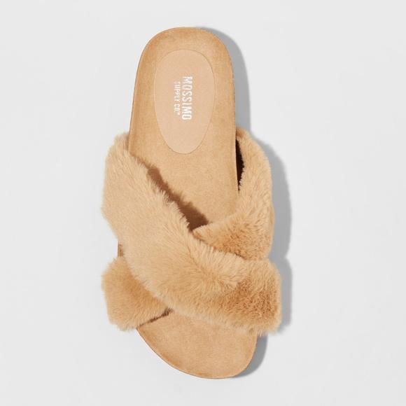 62a60692a4e23f Mossimo Supply Co.™ Bella Faux Fur Foot Sandal